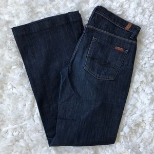 7 for all Mankind dark wash Ginger jeans size 29